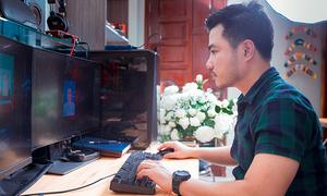 HCMC retoucher creates free memorial portraits of Covid victims