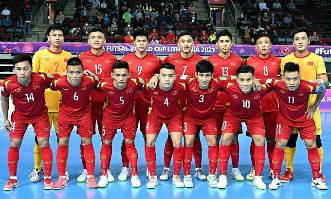 Vietnam ascend world ranking after Futsal World Cup
