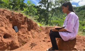 Rural students scale hills to access online classes