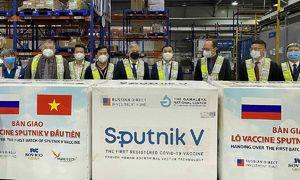 Vietnam receives 740,000 Sputnik V vaccine doses