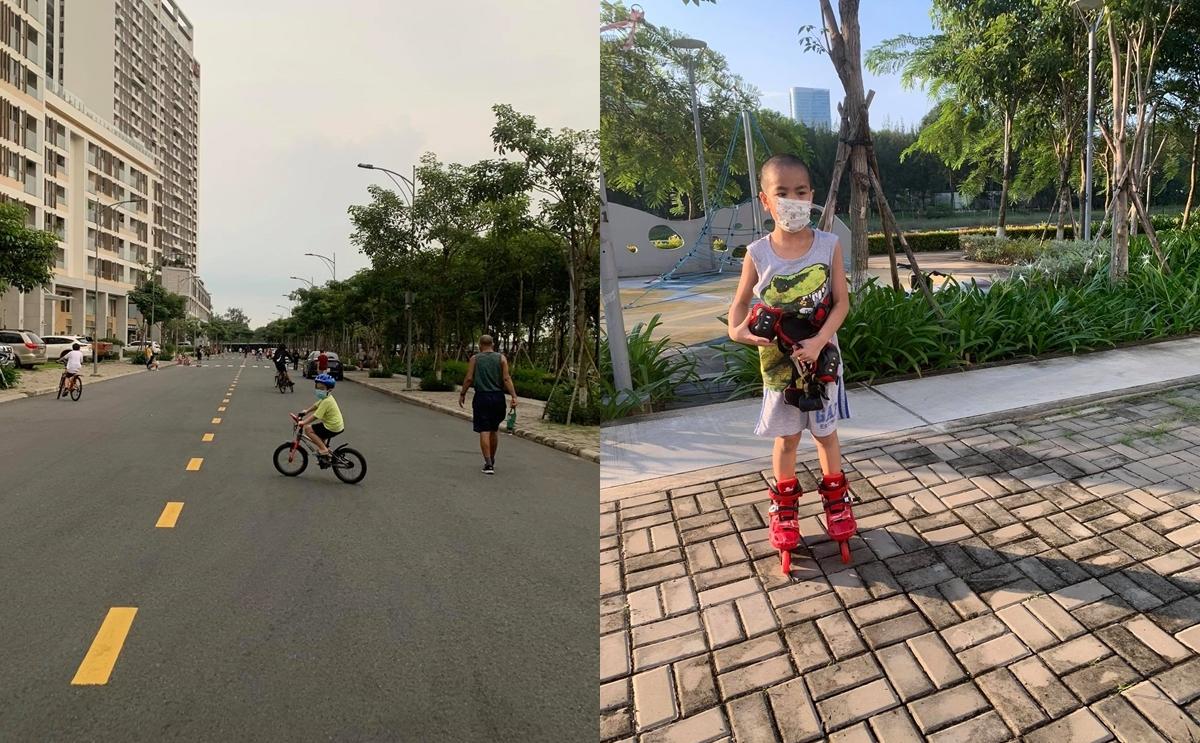 Truong Thien Ngocs children enjoy outdoor activities. Photo courtesy of Ngoc