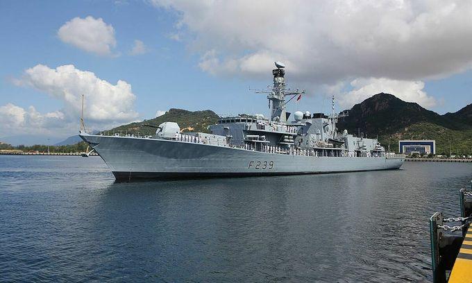 British navy vessel visits Vietnam