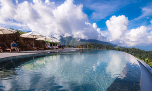 Sa Pa resort boasts one of world's most unique swimming pools