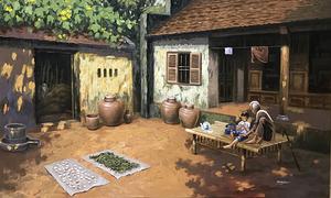 Hanoi painter preserves rural spirit