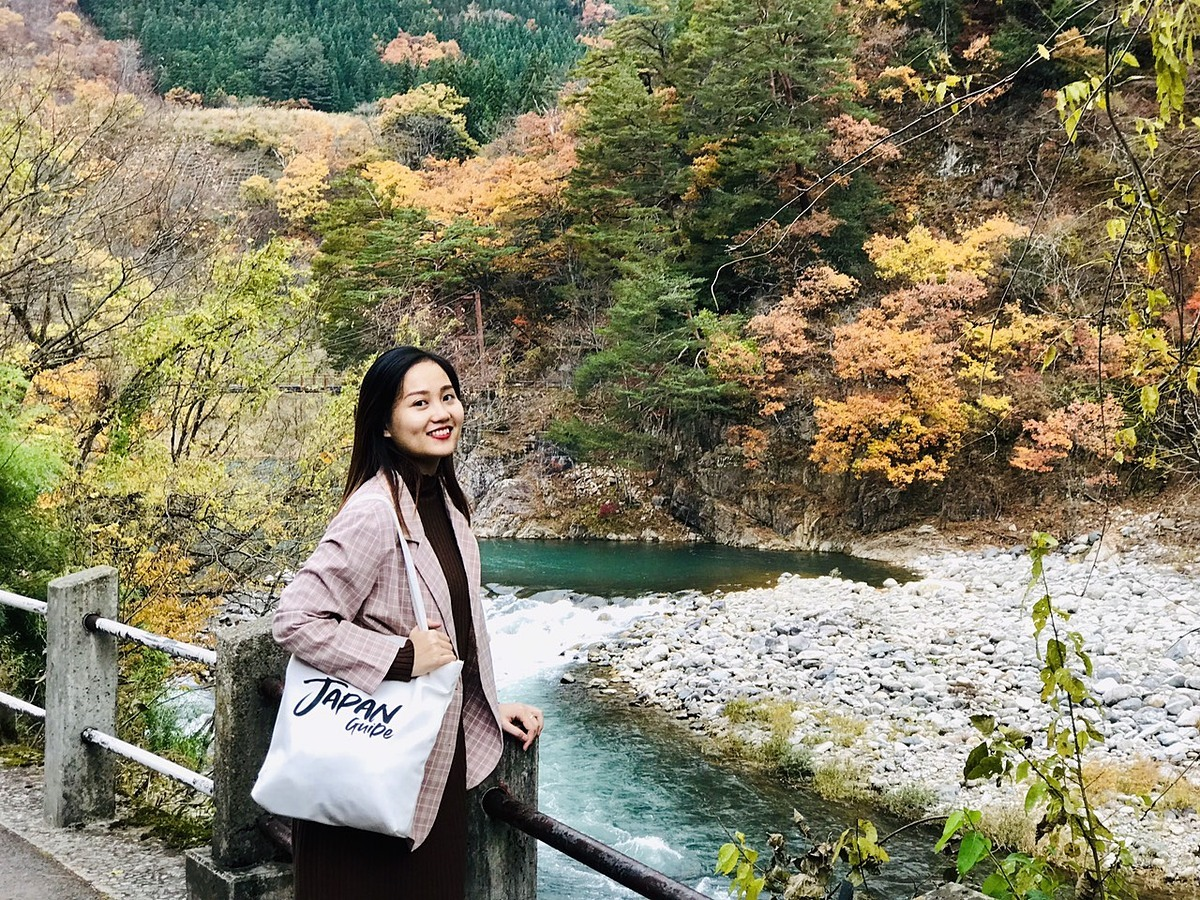 Nguyen Kim Oanh during a Japan trip guided by her in Oct. 2019. Photo courtesy of Oanh