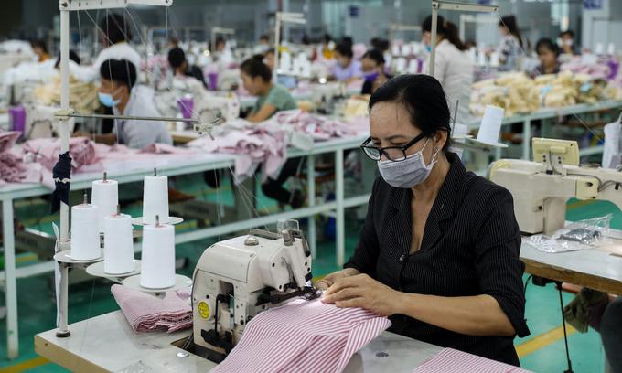 Garment exports hit hard by labor shortage