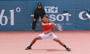 Tennis ace makes early exit in Egypt tournament