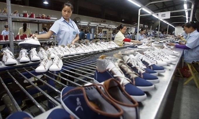 Vietnam footwear exports slip on Covid-19 impacts