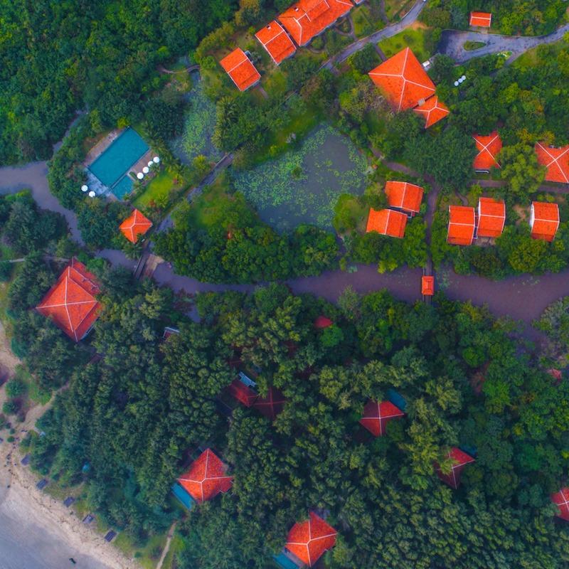 L'Est rencontre l'Ouest dans des complexes de luxe de style Indochine
