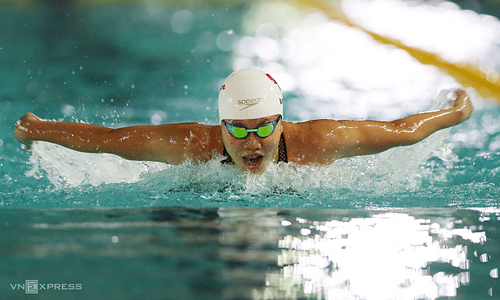Vietnam's number one female swimmer wants to retire