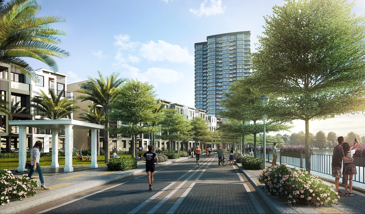 The 9 Stellars boasts a green living space embedded within a modern smart township, courtesy of Qualcomm technology.