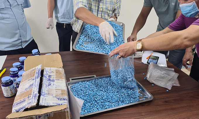 Vietnam seizes 4 kg synthetic drug shipment from Europe
