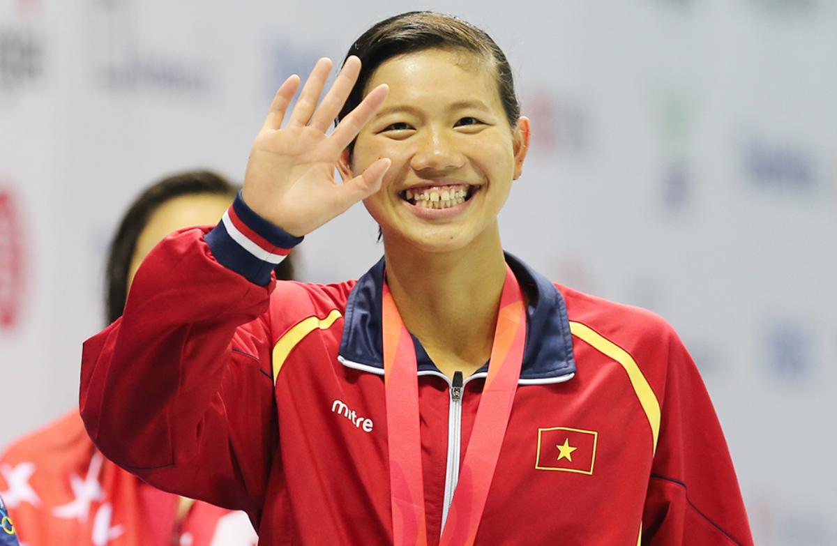 Thập kỷ trang hoàng cho vận động viên bơi lội số một Việt Nam