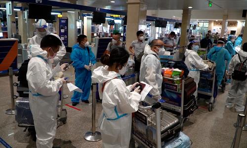 Stranded passengers joyous as domestic flights resume