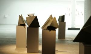 Artists showcase stone sculpture at Hanoi exhibition