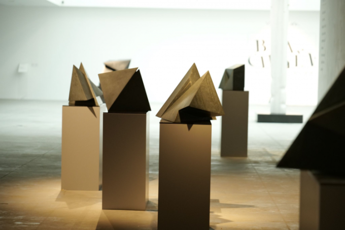 Artworks at the 'Transforming' exhibition. Photo courtesy of the exhibition