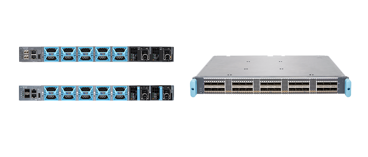 PTX Series offers 400G inline MACsec, flexible filtering, and a reliable network operating system. Photo by: Juniper Data Center Network