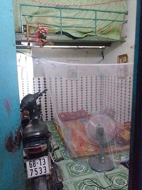 Thuys studio in Binh Duong. Photo courtesy of Nguyen Thu Thuy
