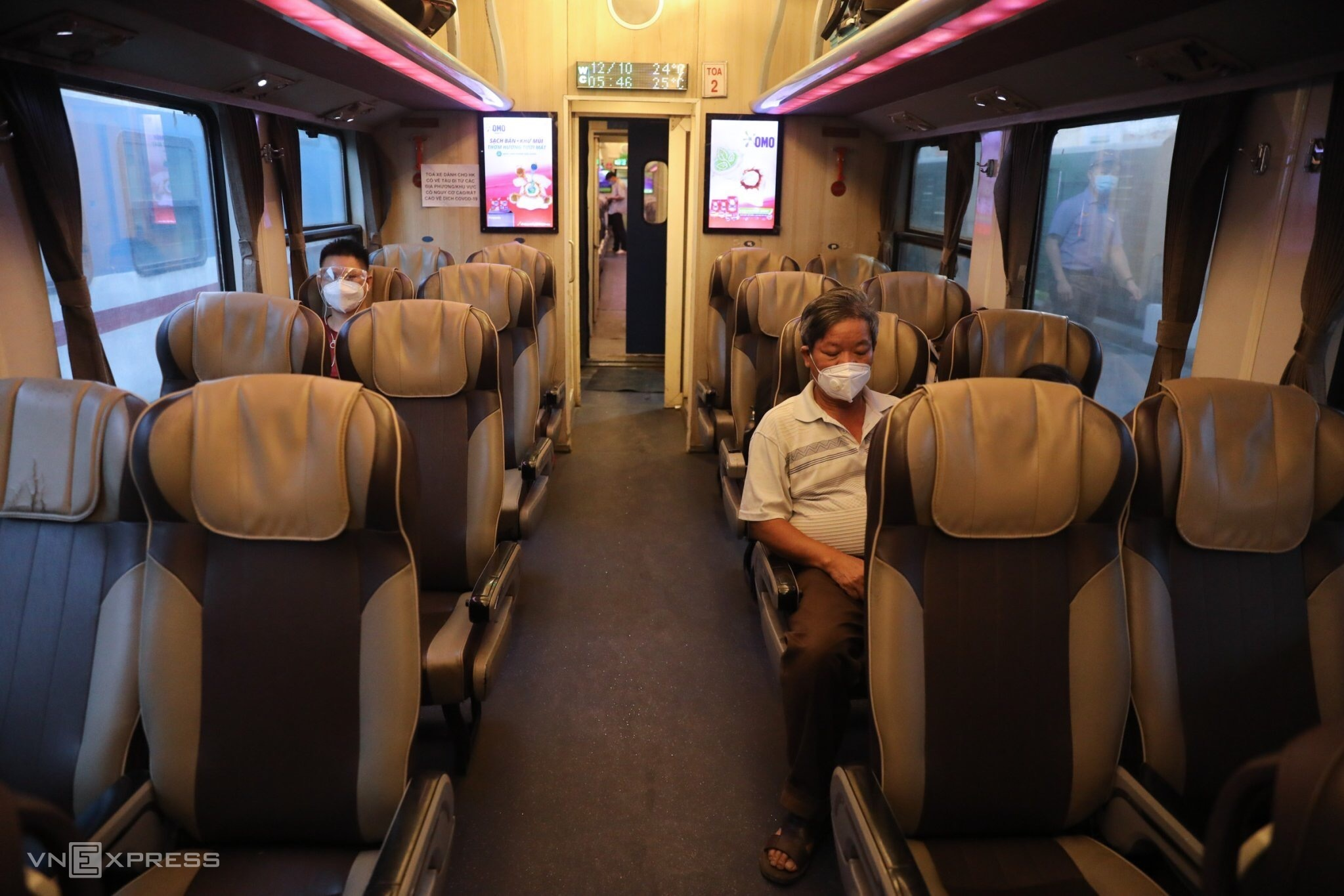 North-South trains get going on new normal tracks