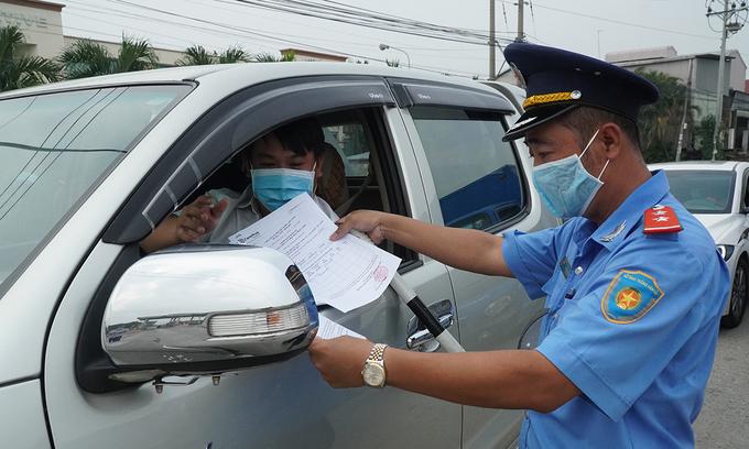 Private cars allowed between HCMC, Dong Nai