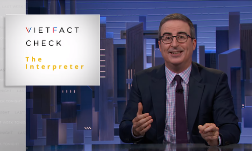 Vietnamese fact-checkers appear on John Oliver show