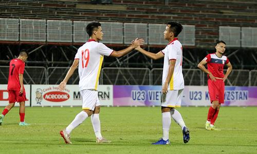 Vietnam U23 beat Kyrgyzstan 3-0 in friendly
