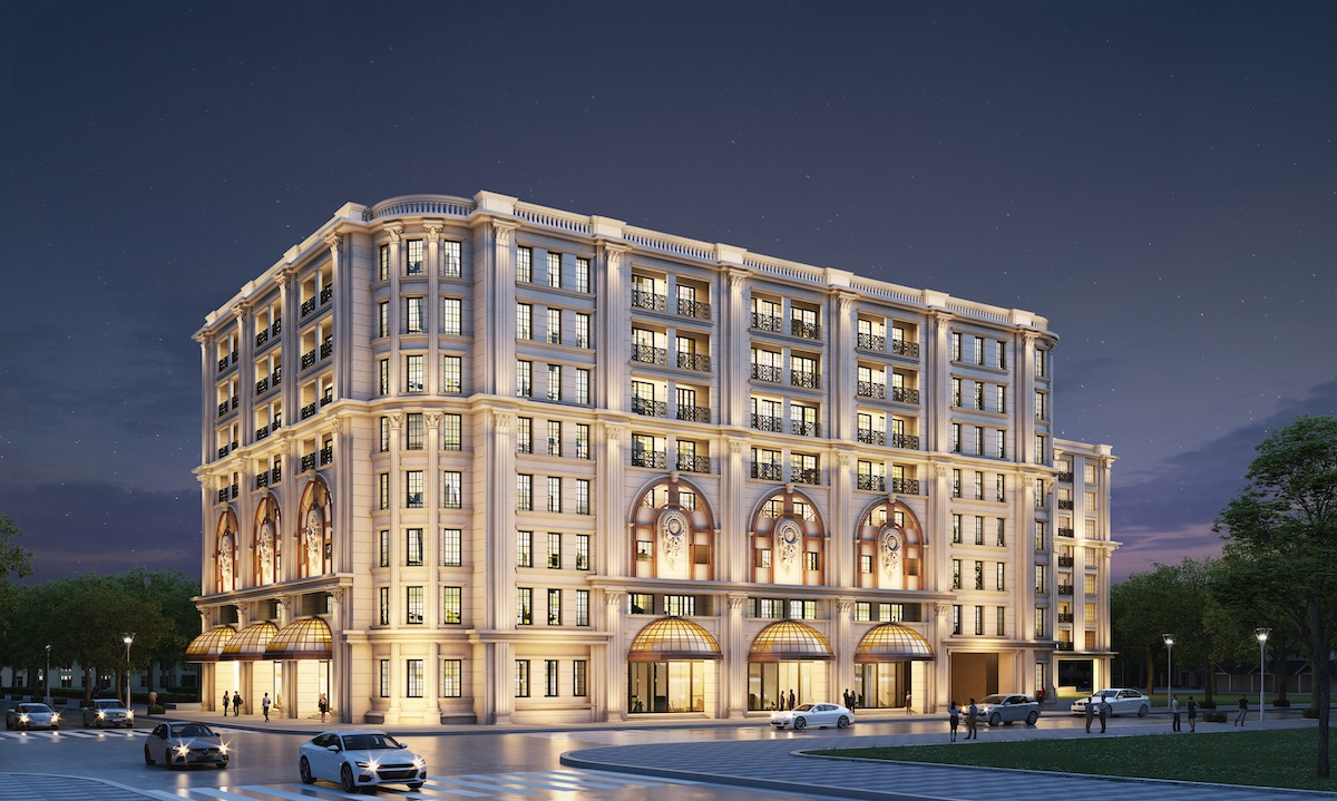 [Caption]Perspective Ritz-Carlton at The Grand is located in the heart of Hoan Kiem district. Photo: Masterise Homes