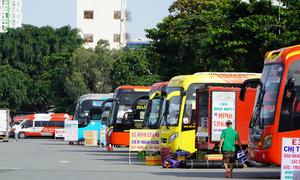 HCMC bus stations deserted