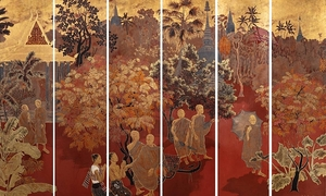 Vietnamese lacquer painting fetches $1.4 mln under French hammer