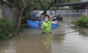 Record rainfall deluges central Vietnam province
